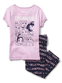 GapKids &#124 Disney Princess capri PJ set