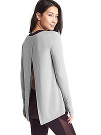 GapFit Breathe tie-back tee