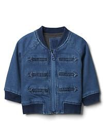 babyGap &#124 Disney Baby Dumbo denim band jacket