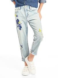 GapKids &#124 Disney Belle girlfriend jeans
