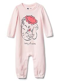 babyGap &#124 Disney Baby Dumbo stripe one-piece