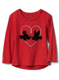 babyGap &#124 Disney Baby Mickey Mouse and Minnie Mouse graphic tee