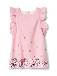 babyGap &#124 Disney Baby Dumbo flutter dress