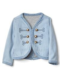 1969 denim band jacket