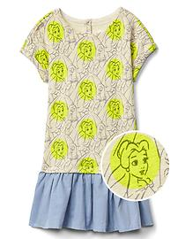 babyGap &#124 Disney Baby Belle drop-waist dress