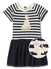 babyGap &#124 Disney Baby Belle tulle dress
