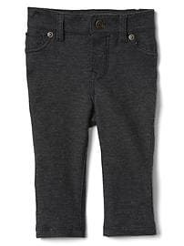 Five-pocket knit pants