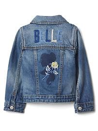 babyGap &#124 Disney Baby Belle denim jacket