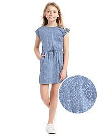 GapKids &#124 Disney Belle cap dress
