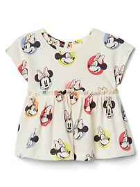 babyGap &#124 Disney Baby Minnie Mouse シャーリングトップス