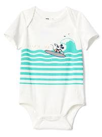 babyGap &#124 Disney Baby Mickey Mouse ボディシャツ