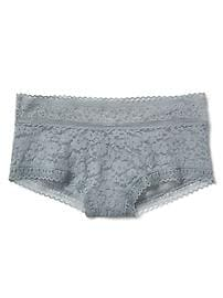 Soft lace shorty