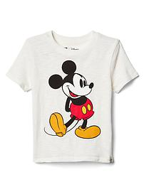 babyGap &#124 Disney Baby Mickey Mouse スラブTシャツ