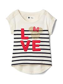 babyGap &#124 Disney Baby Minnie Mouse ハイローTシャツ