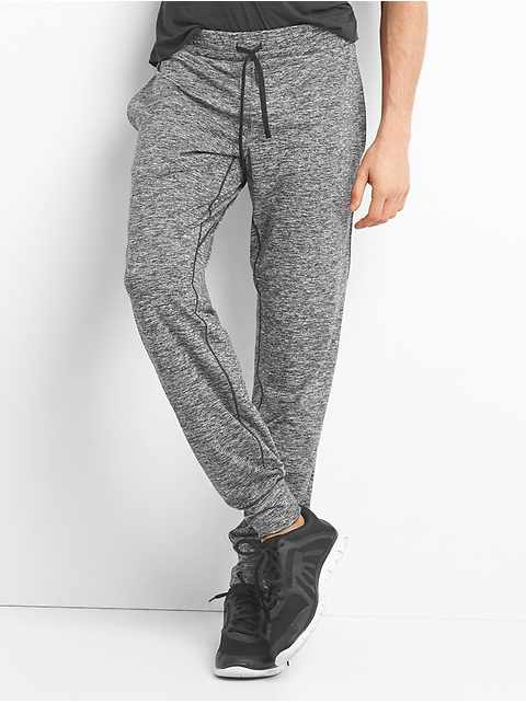 Brushed jersey jogger