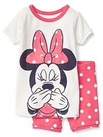 babyGap &#124 Disney Baby Minnie Mouse 半袖パジャマセット