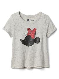 babyGap &#124 Disney Baby Mickey Mouse and Minnie Mouse ハイローTシャツ