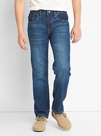 1969 stretch straight jeans