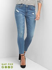 AUTHENTIC 1969 true skinny ankle jeans