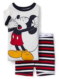 babyGap &#124 Disney Baby Mickey Mouse 半袖パジャマセット