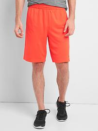 GapFit side panel mesh shorts