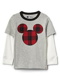 babyGap &#124 Disney Baby Mickey Mouse 2-in-1 Tシャツ