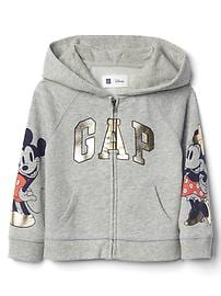 babyGap &#124 Disney Baby Mickey Mouse and Minnie Mouse ジップパーカー