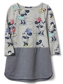 babyGap &#124 Disney Baby Minnie Mouse シャンブレーワンピース