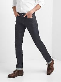 Selvedge skinny fit jeans
