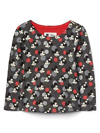 babyGap &#124 Disney Baby Mickey Mouse and Minnie Mouse グリッターTシャツ