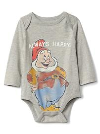 babyGap &#124 Disney Baby Snow White and the Seven Dwarfs グラフィック ボディスーツ