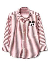 babyGap &#124 Disney Baby Mickey Mouse ストライプシャツ