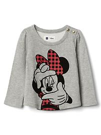 babyGap &#124 Disney Baby Minnie Mouse ダブルニット プルオーバー