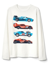 GapKids &#124 Hot Wheels&#169 長袖Tシャツ