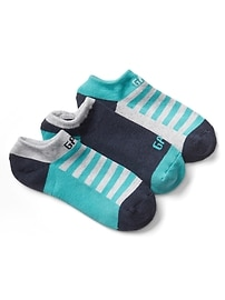 Logo athletic ankle socks (3-pack)