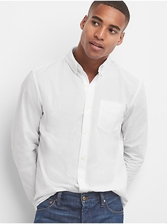 True wash standard fit shirt