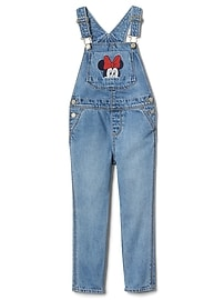 babyGap &#124 Disney Baby Minnie Mouse デニムサロペット