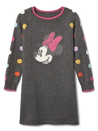 babyGap &#124 Disney baby Minnie Mouse ラグラン セータードレス