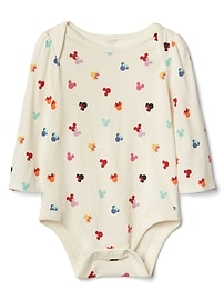 babyGap &#124 Disney Baby Mickey Mouse and Minnie Mouse ドット ボディスーツ