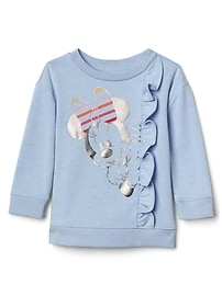babyGap &#124 Disney Baby Minnie Mouse フリルプルオーバー