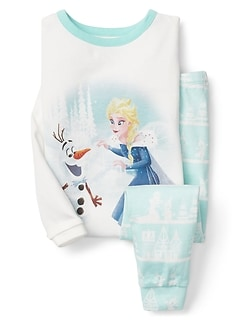 babyGap &#124 Disney Baby Elsa and Olaf パジャマセット