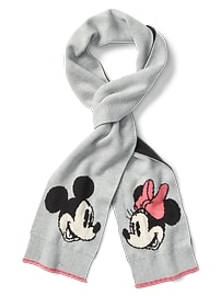 GapKids &#124 Disney Mickey Mouse and Minnie Mouse スカーフ