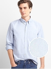 Bengal stripe oxford shirt