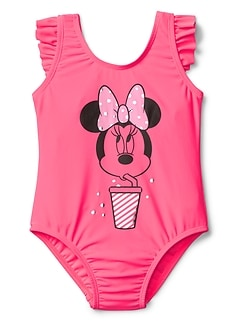 GapKids &#124 Disney Minnie Mouse フリルボディオール