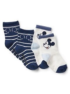 babyGap &#124 Disney Mickey Mouse クルーソックス