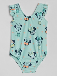 babyGap &#124 Disney Minnie Mouse ワンピース水着