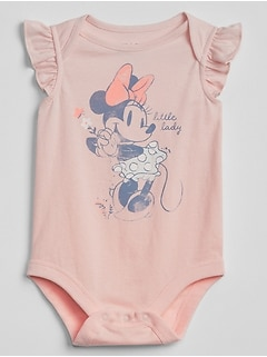 babyGap &#124 Disney Minnie Mouse ボディシャツ