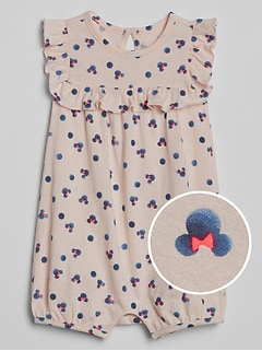 babyGap &#124 Disney Minnie Mouse ショートオール