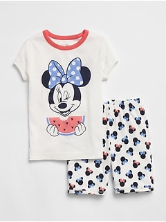 GapKids &#124 Disney Minnie Mouse パジャマセット