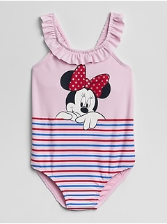GapKids &#124 Disney Minnie Mouse ワンピース水着